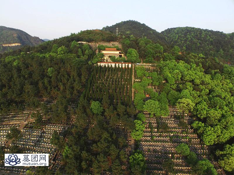 龙居山陵园 远景图